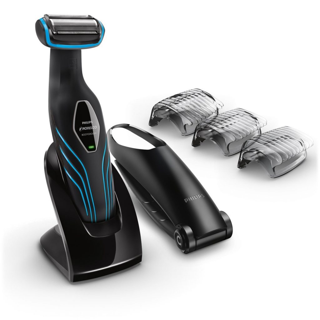 Philips Norelco Bodygroom Series 3100, Shave and trim with back attachment