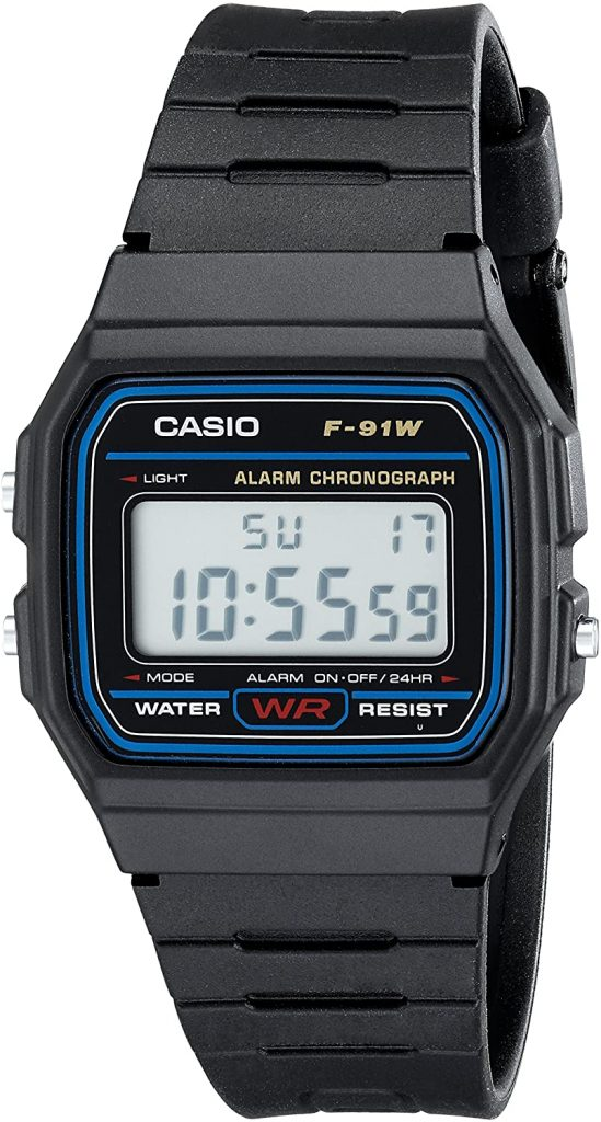 Casio F91w 1 Classic Resin Strap Sports Digital Watch