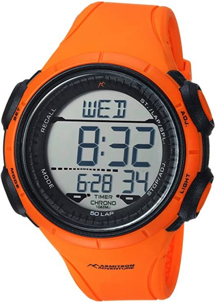 Armitron Adventure Men's AD/1013ORG Digital Chronograph