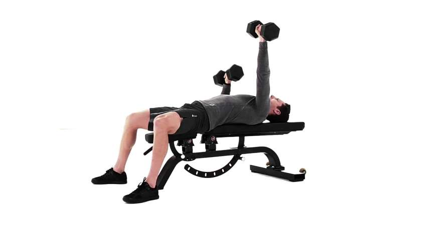 Single-arm Dumbbell Bench Press