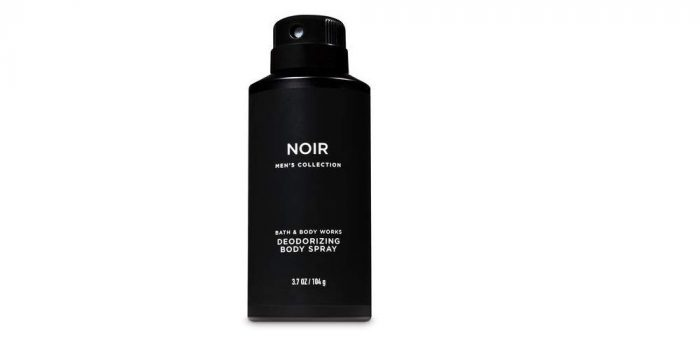 Bath and Body Works Signature Collection for Men Noir Deodorizing Body Spray