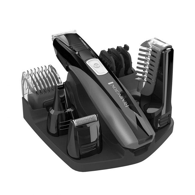 Remington PG525 Head to Toe Lithium Powered Body Groomer Kit, Beard Trimmer