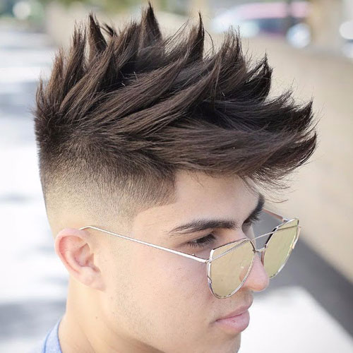 The Tall Spiked look