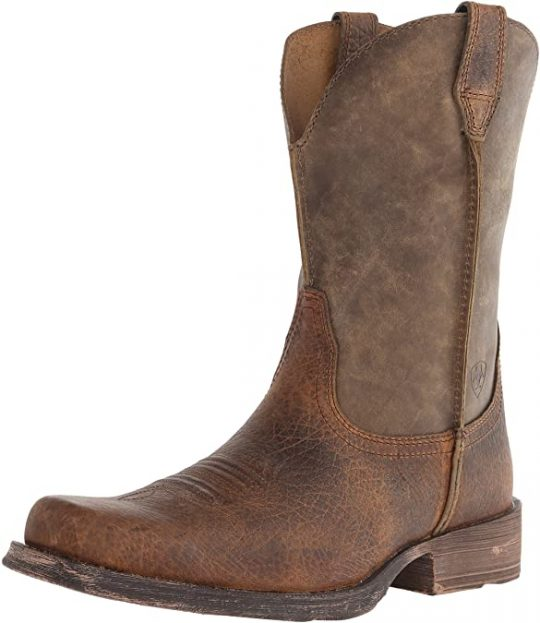 Ariat Rambler Wide Square Toe Western Cowboy Boot
