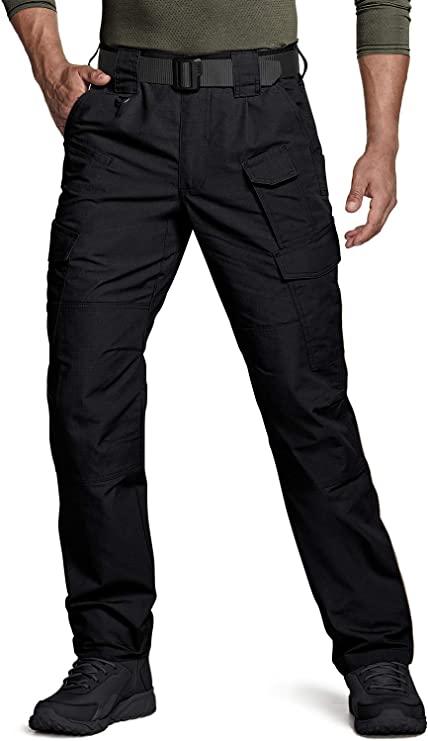 CQR Men's Work RipStop Tactical Utility Pants