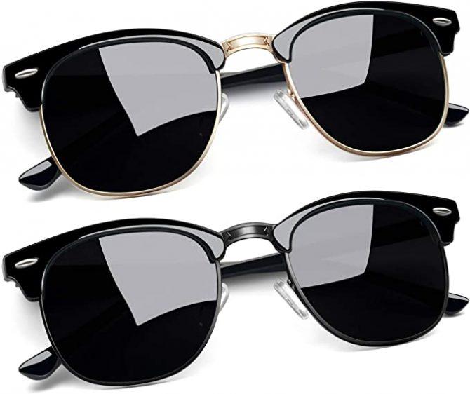 Joopin Semi Rimless Polarized Sunglasses