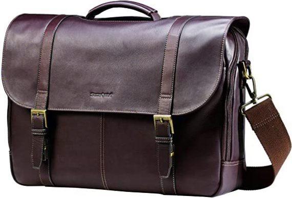 Samsonite Colombian Leather Messenger Bag