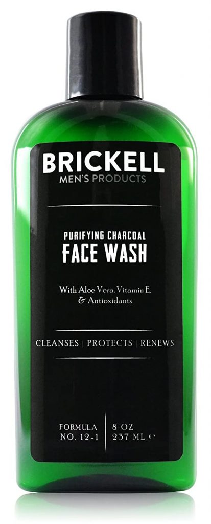 Brickell Men's Purifying Charcoal Face Wash