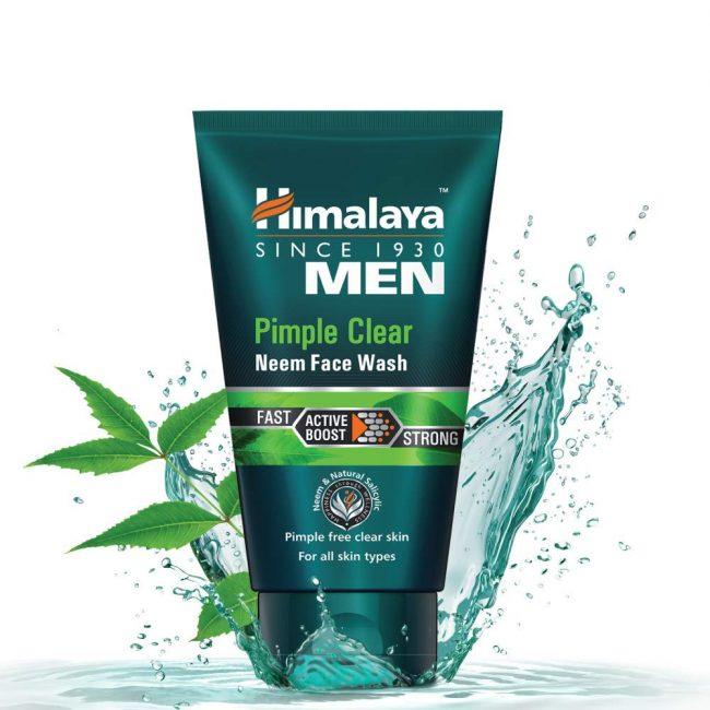 Himalaya Herbals Men Pimple Clear Neem Face Wash, 100 ml