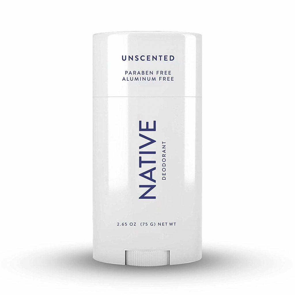 Native unscented natural Deodorant