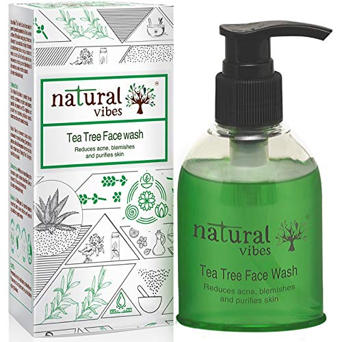Natural Vibes ~ Ayurvedic Tea Tree Face Wash