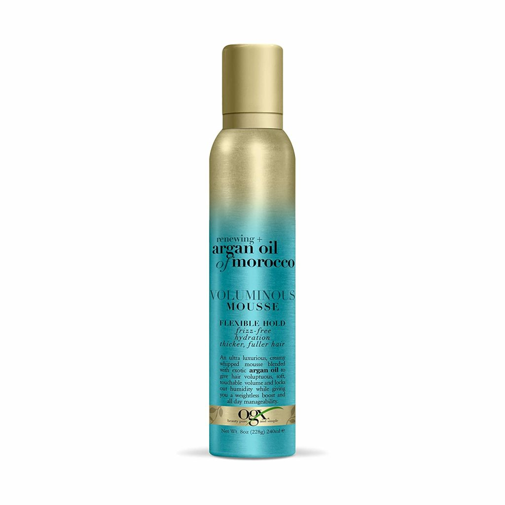 OGX Renewing + Argan Oil of Morocco Voluminous Mousse