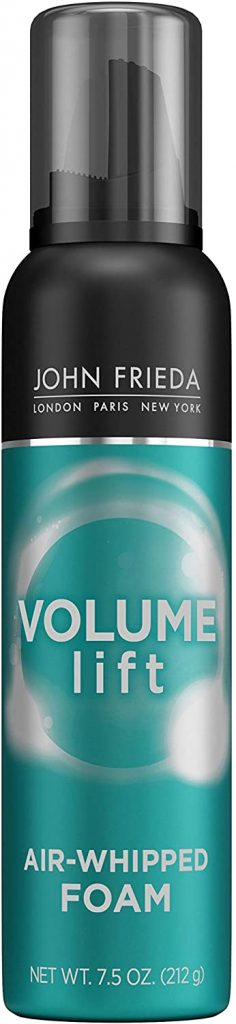 THE JOHN FRIEDA VOLUME LIFT PERFECTLY FULL MOUSSE FOR FINE HAIR, 7.5 OUNCE