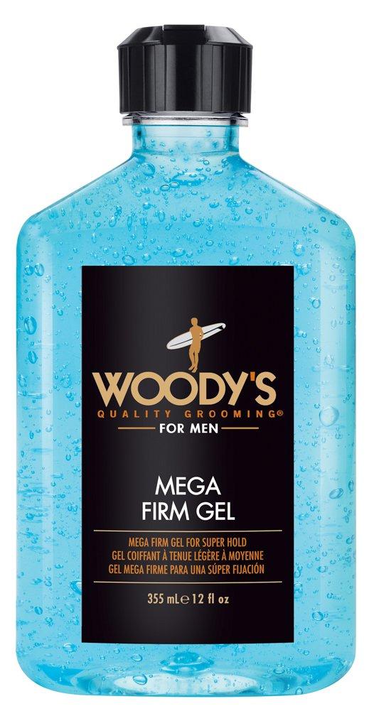 Woody's Mega Firm Hair Gel for Men