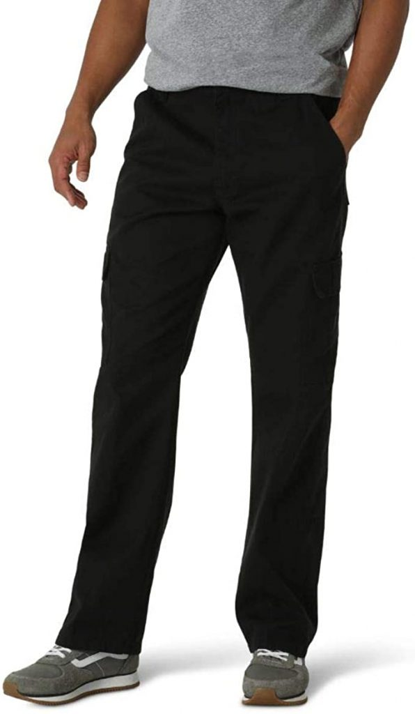 Wrangler Authentics Men's Classic Twill Relaxed Fit Cargo Pant