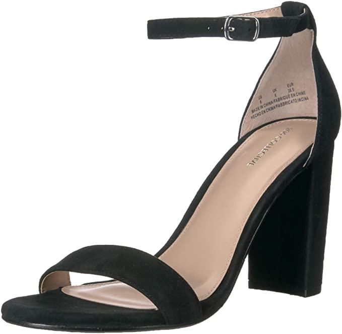 Red Dress Black Heels, Sandals & Boots