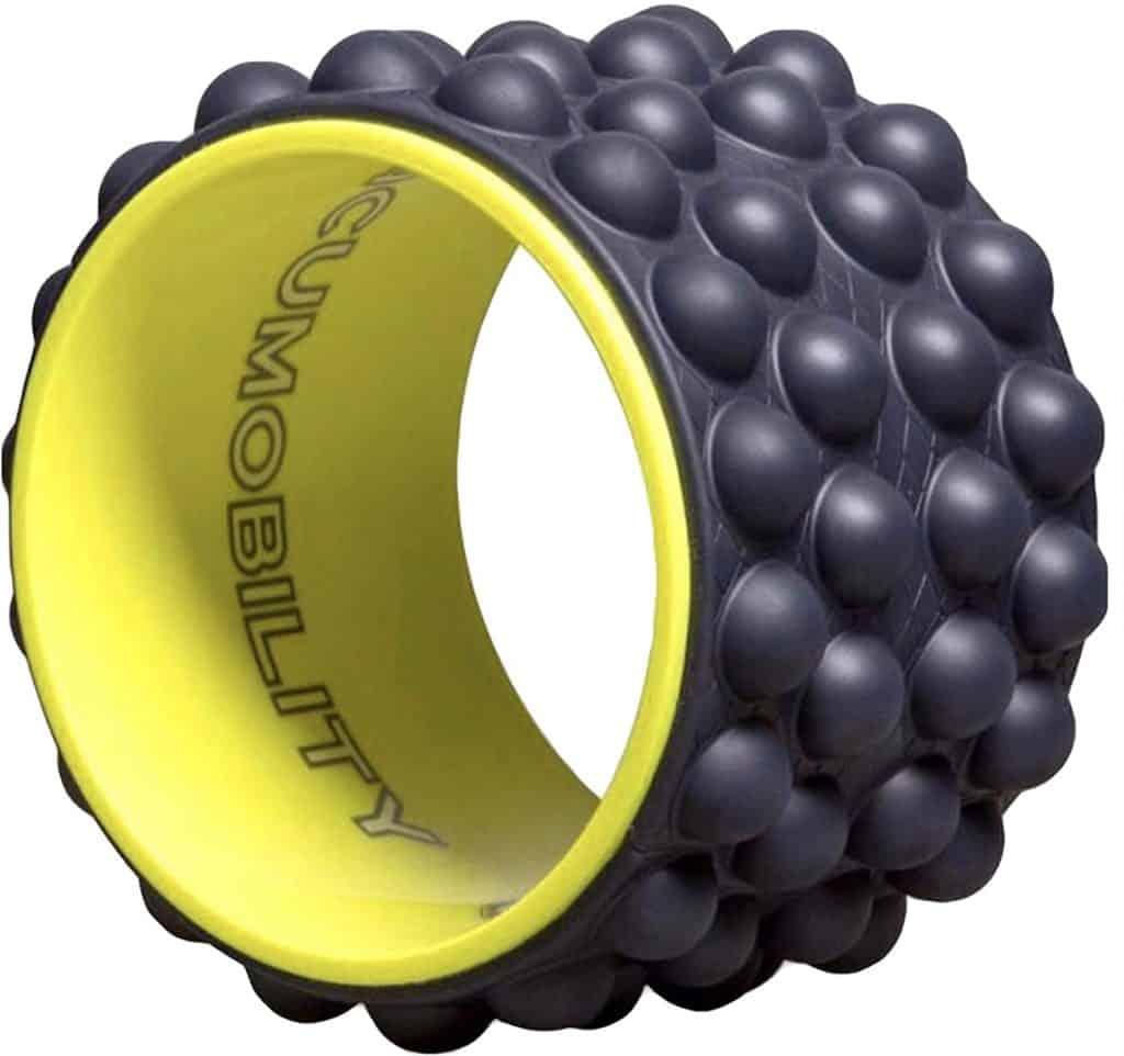 Acumobility, myofascial Release, Trigger Point, Yoga Wheel, Foam Roller, Back Pain, Yoga Wheel for Back Pain, Back Massager, Deep Tissue, Massage, Exercise, Mobility