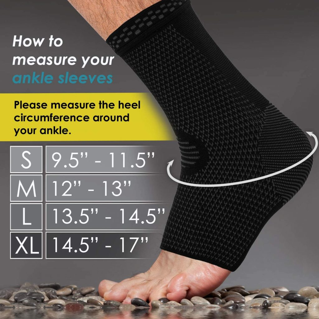 The Powerlix Ankle brace is one of the top-selling ankle sleeves on Amazon right now. You may purchase or choose from the given link below.
