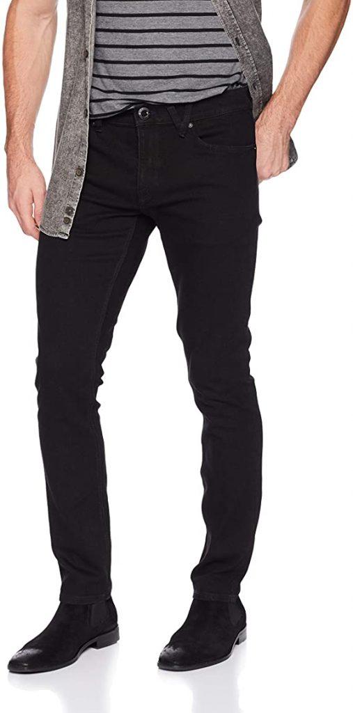 Volcom Vorta Slim-Fit Stretch Denim Jeans