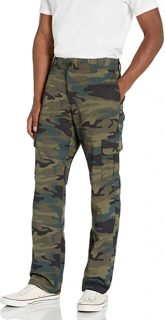 Dickies Men's Regular Straight Stretch Twill Cargo Pant