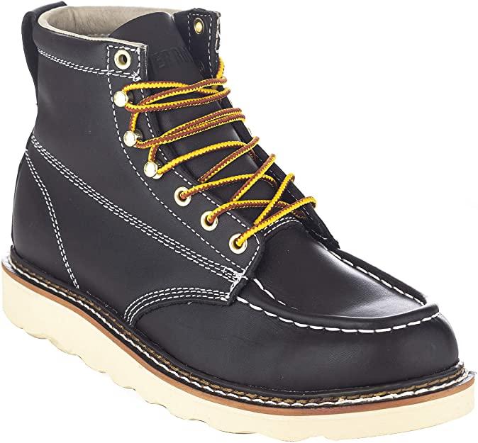 EVER BOOTS Weldor Mens Moc Toe Construction Work Boots